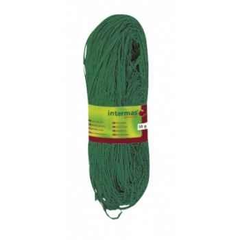 Raphia naturel teinté rouge/vert/jaune/orange Intermas 147019