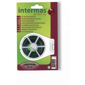 Fil de fer plastifie Intermas 147004