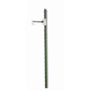 Tuteur acier plastifie vert Intermas 140842