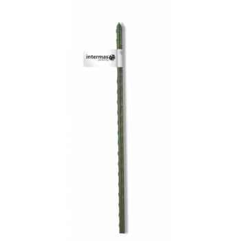 Tuteur acier plastifie vert Intermas 140843
