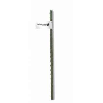 Tuteur acier plastifie vert Intermas 140844