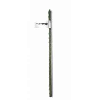 Tuteur acier plastifie vert Intermas 140845