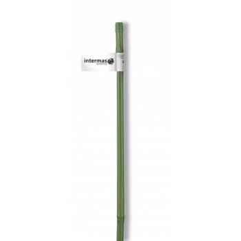 Tuteur bambou plastifie vert Intermas 140801