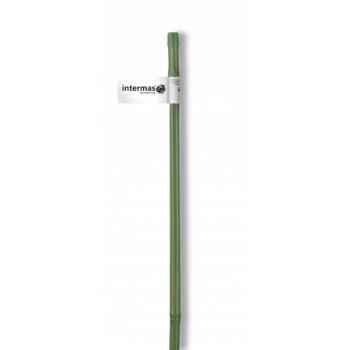 Tuteur bambou plastifie vert Intermas 140802