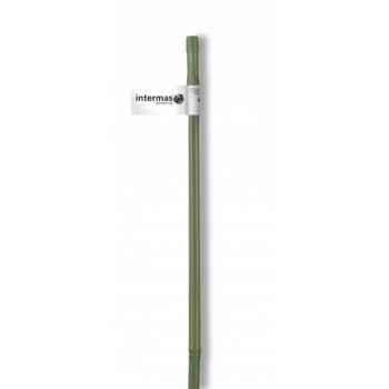 Tuteur bambou plastifie vert Intermas 140805