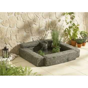 Broceliande bassin de terrasse +pompe  Intermas 180594