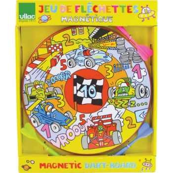 Cible et fléchettes magnétiques formule 1 vilac 2954