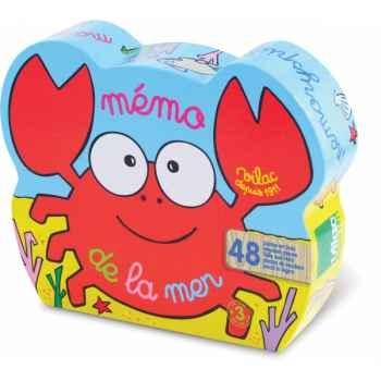 Mémo de la mer boîte crabe vilac 2427