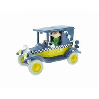 Figurine gaston dans son taxi Plastoy 00302