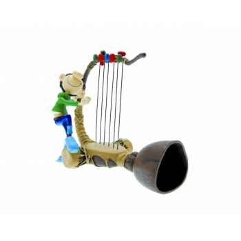 Figurine gaston gaffophone  Plastoy 00308