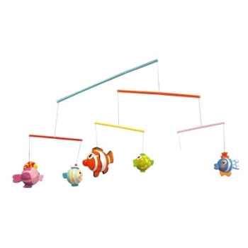 Mobile 6 pièces poissons drôles Le coin des enfants 11483