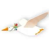 mobile volant oie niels le coin des enfants 08780