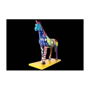 Figurine Eléphant 50cm the dreamhorse Art in the City 84255