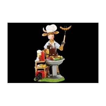 Figurine Vache 20cm mr. grill Art in the City 84141