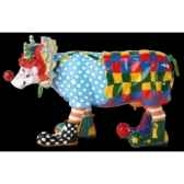 figurine vache charlie the clown 15cm art in the city 80825