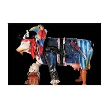 Figurine Vache cow pirate 15cm Art in the City 80828