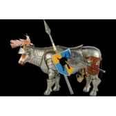figurine vache knight berti 32cm art in the city 80643