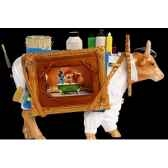 figurine vache the artfupainter 32cm art in the city 80649