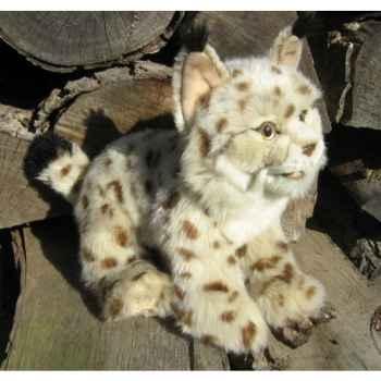 Peluche lynx 27cm (long)  Ushuaia Junior 707