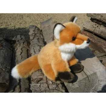 Peluche renard 22cm (long)  Ushuaia Junior 708
