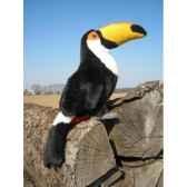 peluche toucan toco 25cm haut ushuaia junior 800
