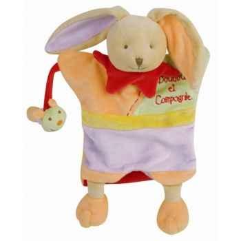 Peluche marionnette - paulin le lapin doudou et compagnie dc1608