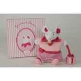 peluche graines de doudou souris marionnette doudou et compagnie dc2191