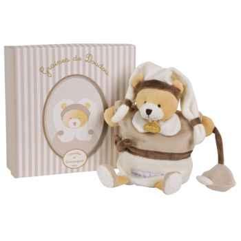 Peluche graines de doudou - ours marionnette doudou et compagnie dc2193