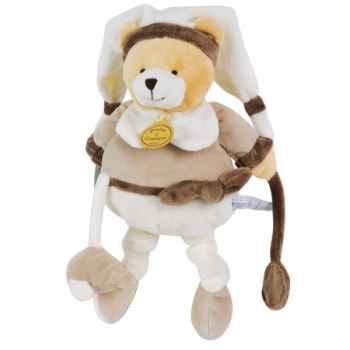 Peluche graines de doudou - ours pantin d\'activités  doudou et compagnie dc2198