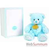 boite a musique ours bleu doudou et compagnie dc2231