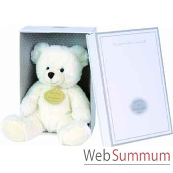 Boite a musique ours blanc doudou et compagnie dc2233