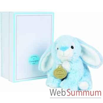 Boite a musique lapin bleu doudou et compagnie dc2234