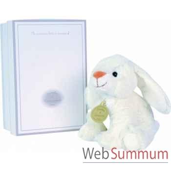 Boite a musique lapin blanc doudou et compagnie dc2236