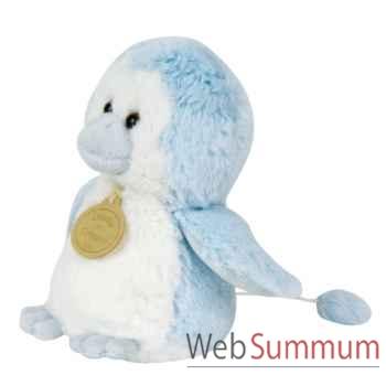Boite a musique pingouin bleu doudou et compagnie dc2237