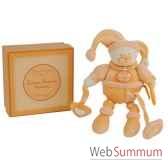 pantin activite mandarine douceur macaron doudou et compagnie dc2083