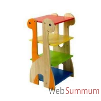 Etagère dinosaure en bois pour enfants Voila - S024