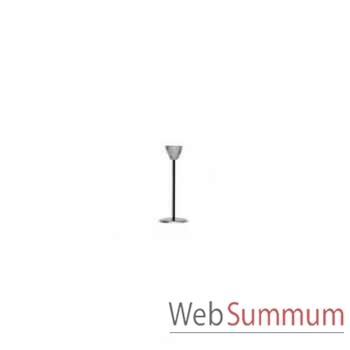 6 Chandeliers de table Tulip finition acier brillant Aristo - 825241