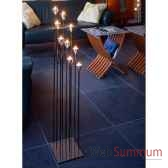 chandelier tulip 9 branches aristo 825140