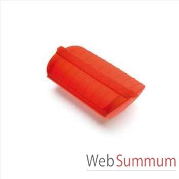 Lekue papillotte 3/4 p rouge + grille -001420