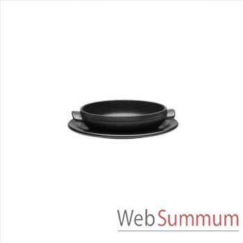 Emile henry mini tatin 21cm noir - flame -001702
