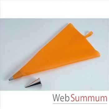De buyer poche patissière silicone + 2 douilles inox -002128