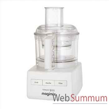 Magimix robot multifonctions blanc - compact 3200 -002207