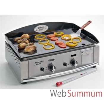 Roller grill plancha gaz émail 59x38 -002226