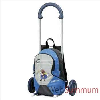 Andersen poussette enfant bleu -002281