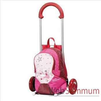 Andersen poussette enfant rose -002282