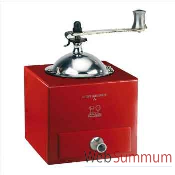 Peugeot moulin à poivre 13 cm rouge piment - olivier roellinger -002291