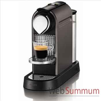 Krups nespresso citiz gris titane -002345