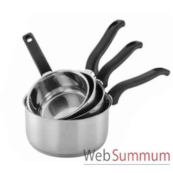 Série de 4 casseroles -002546
