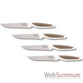 nogent set de 4 couteaux a steack 12 cm profile 002831