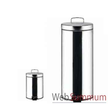Brabantia poubelle 30l classic + poubelle 3l brillant steel -002964